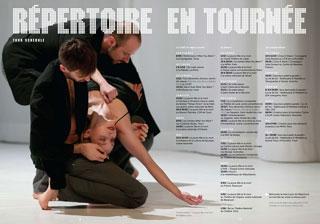 Programme CCN Tours - saison 2012-2013 © Frédéric Iovino