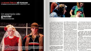 """revue """"Scène de vie"""" - Lettre du Théâtre du Nord - Lille - 2012 - photographies © Frédéric Iovino"""