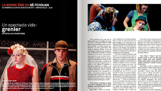 Revue «Scène de vies» – 2012