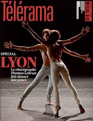 Couverture Telerama Lyon 3341 - 22 janvier 2014 - photographie © Frédéric IOVINO