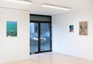 """Vue de l'exposition """"Trophées"""" / Crash Gallery du 31 janvier au 15 mars 2020"""